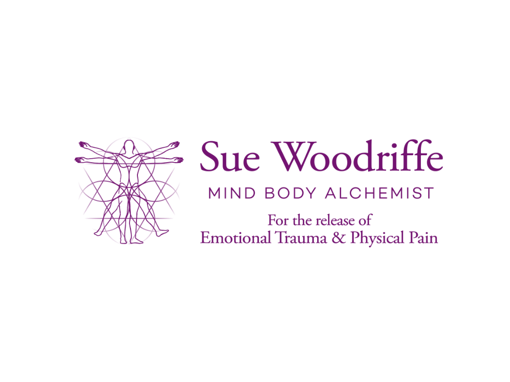 Sue Woodriffe Mind Body Alchemist Logo - Client of Exeter website & logo designer One Bright Spark