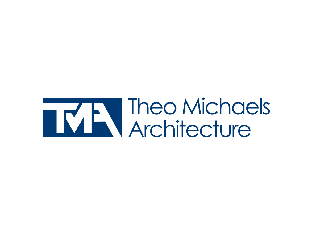TMA Theo Michaels Architecture Logo - Client of Exeter website & logo designer One Bright Spark