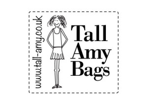 Tall Amy Bags logo brand Identity by One Bright Spark of Exeter, Devon