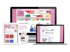 Tall Amy Bags website, web design & development by Exeter's One Bright Spark
