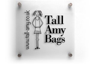 Tall Amy Bags website design by Devon based One Bright Spark