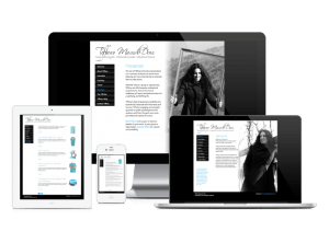 Tiffany Macedo-Dine website, web design & development by Exeter's One Bright Spark