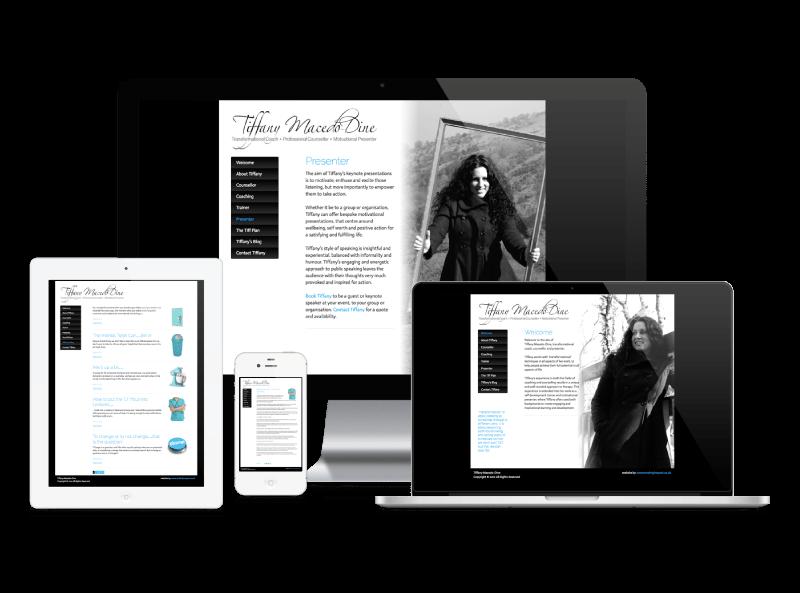 Tiffany Macedo-Dine website