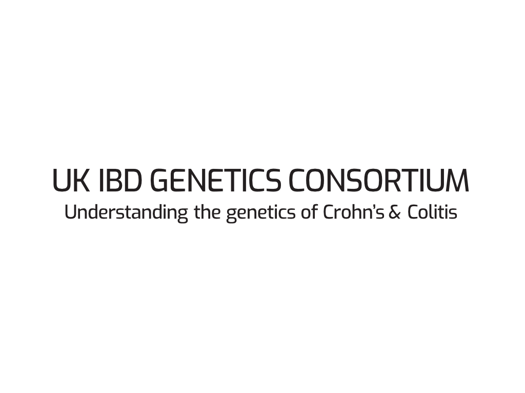 UK IBD Consortium Logo - Client of Exeter website & logo designer One Bright Spark