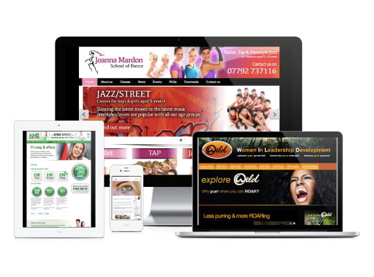Web Design & Development from Exeter's One Bright Spark