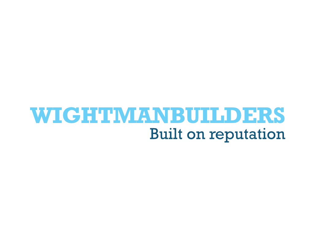 Wightman Builders Logo - Client of Exeter website & logo designer One Bright Spark