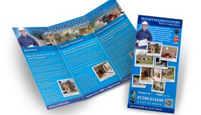 Wightman Builders leaflet