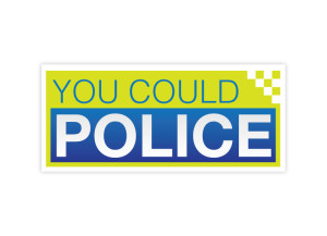 You Could Police logo brand Identity by One Bright Spark of Exeter, Devon