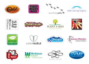 Logo & brand Identity by One Bright Spark of Exeter, Devon