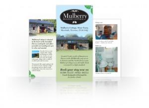 Mulberry Cottage leaflet