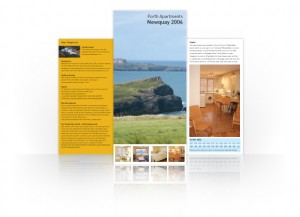 Newquay holiday let brochure