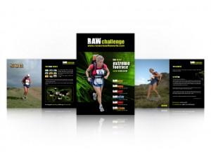 RAW Challenge sponsorship brochure