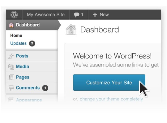 Easy to use WordPress Website in Exeter from One Bright Spark