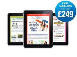 Great value cost effective HTML email marketing from only £249 from One Bright Spark, Exeter