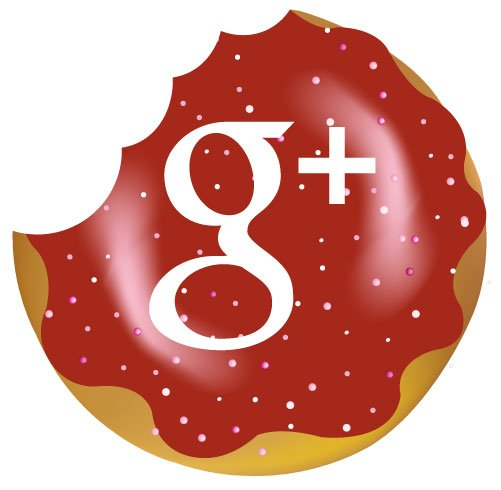 Google+ donut