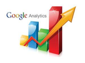Google analytics built into back end of web design