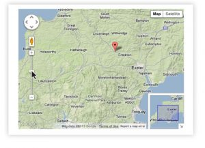 embed google maps on your web pages
