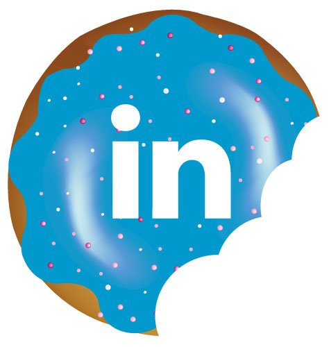 LinkedIn donut