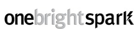 One Bright Spark marketing, web, print & design services in Exeter, Devon logo