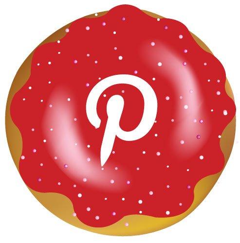 Pinterest donut