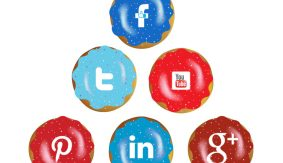 Social media explained with donuts!