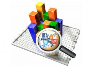 Social Media Statistics built into your website by One Bright Spark, Exeter