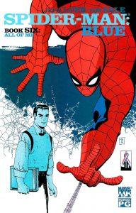 spiderman mini blue cover 06