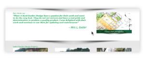 web page design testimonials