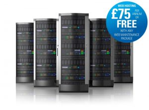 Great value green web hosting £75 per year from One Bright Spark, Exeter