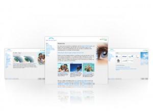 Exeter Laser Eye Surgeons website
