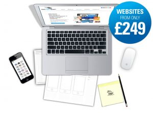 Great value cost effective websites from only £249 from One Bright Spark, Exeter