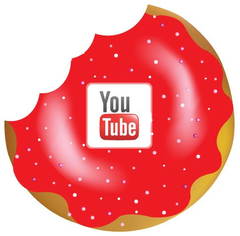 YouTube donut